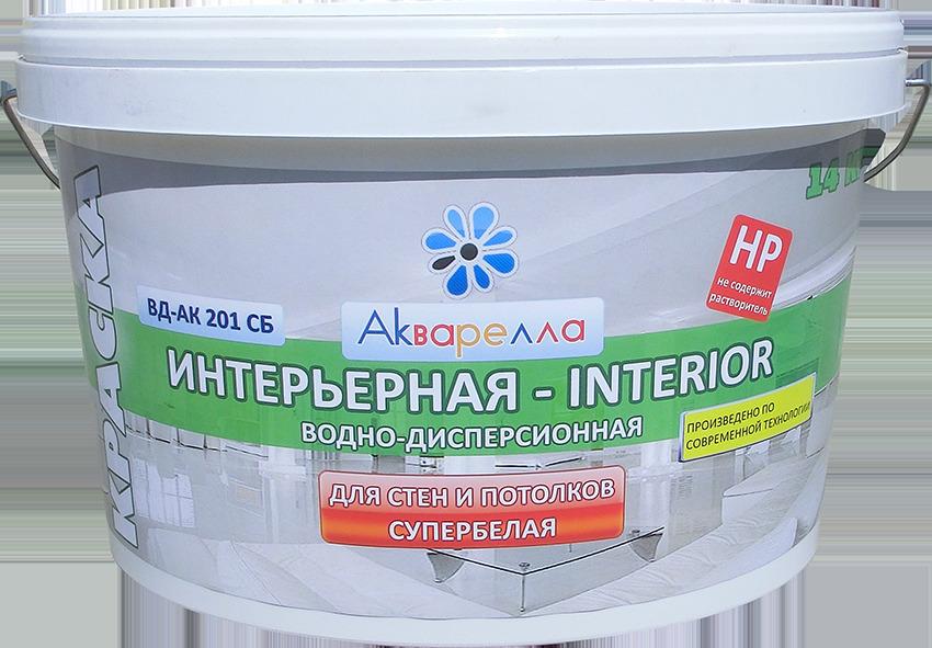 Акриловая краска для потолка поверх водной краски перекрытия по деревянным балкам гидроизоляция видео
