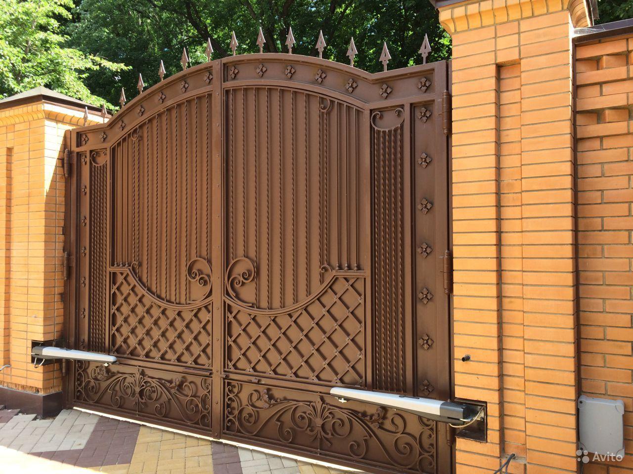 Ворота модели фото