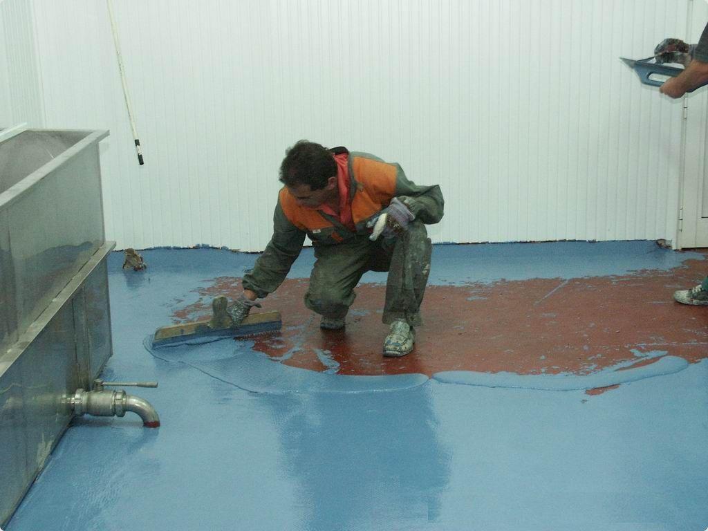 Порошковая штукатурная гидроизоляция наливной пол бергауф медиум