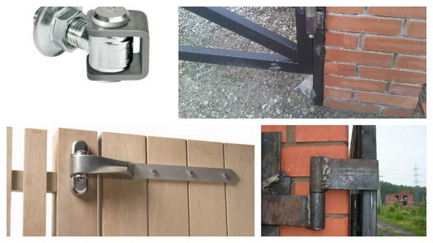 Дверная петля для калиток: какую выбрать и как установить