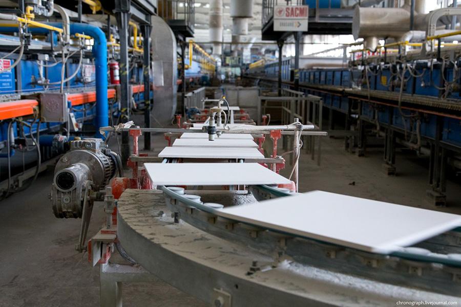 Производители линий кислотоупорной плитки