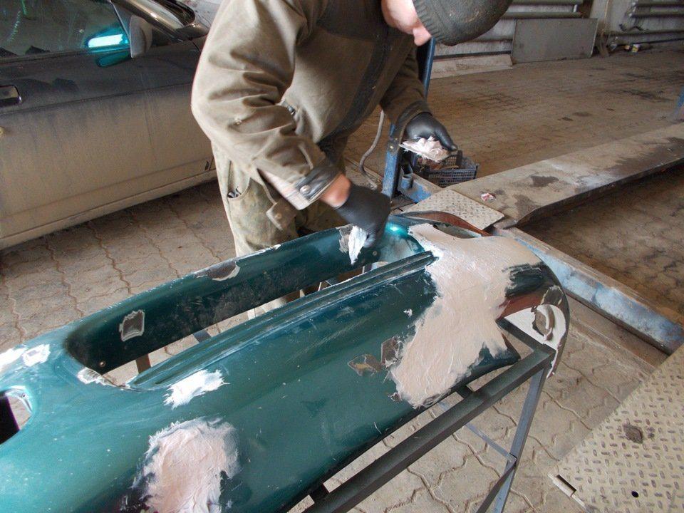Ремонт бамперов своими руками в домашних условиях (фото)