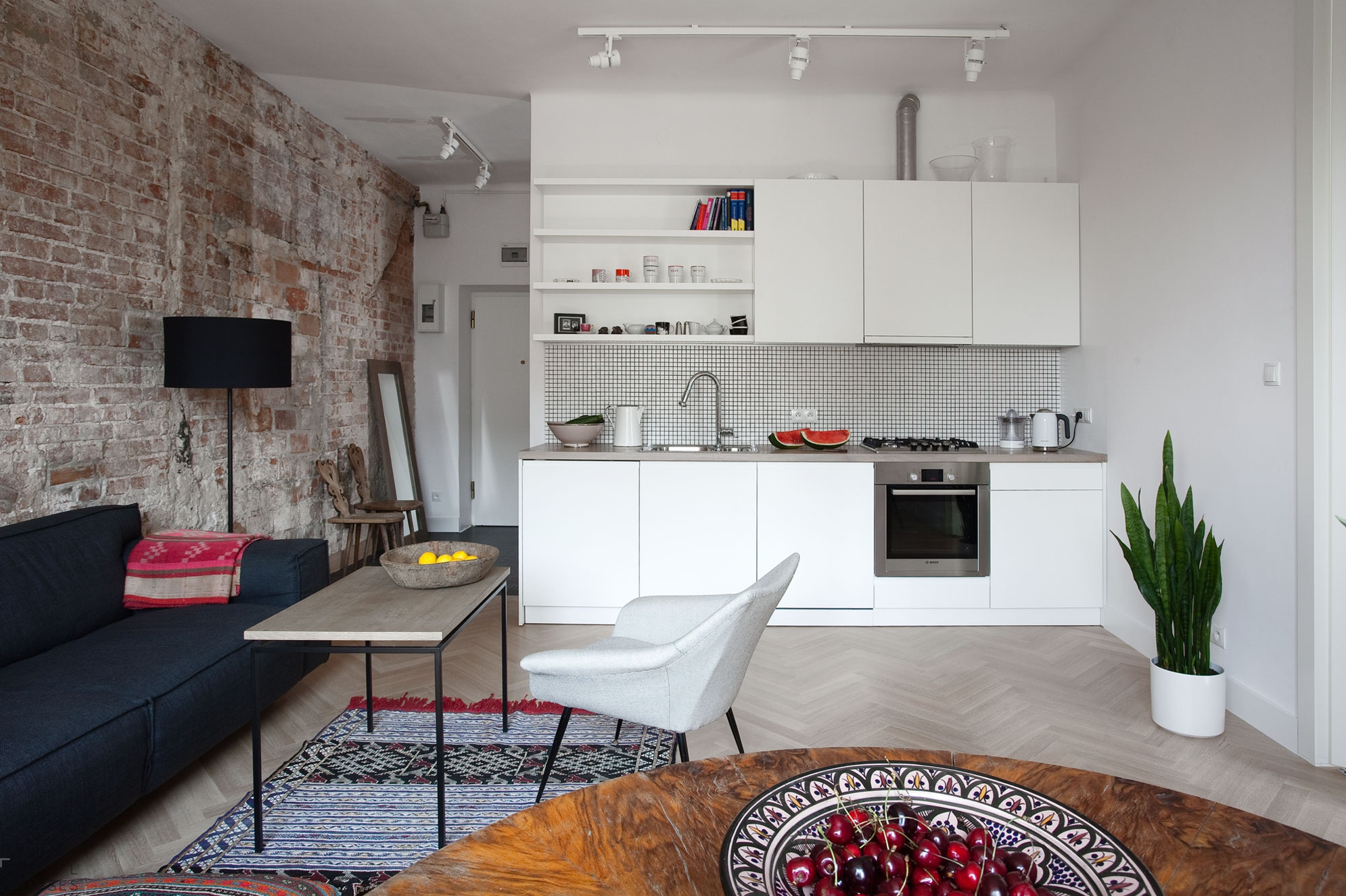 Кухня-гостиная в стиле «минимализм»