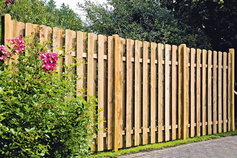Забор своими руками фото штакетник