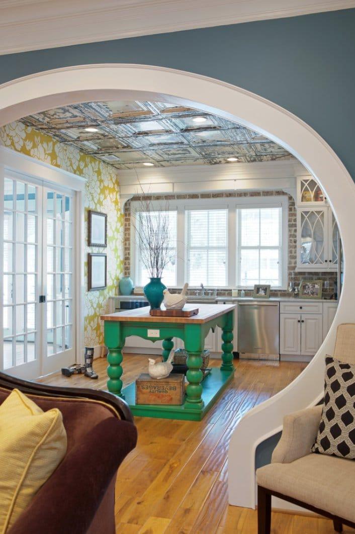 так очевидно арки из гипсокартона фото дизайн для кухни обидчика заговором