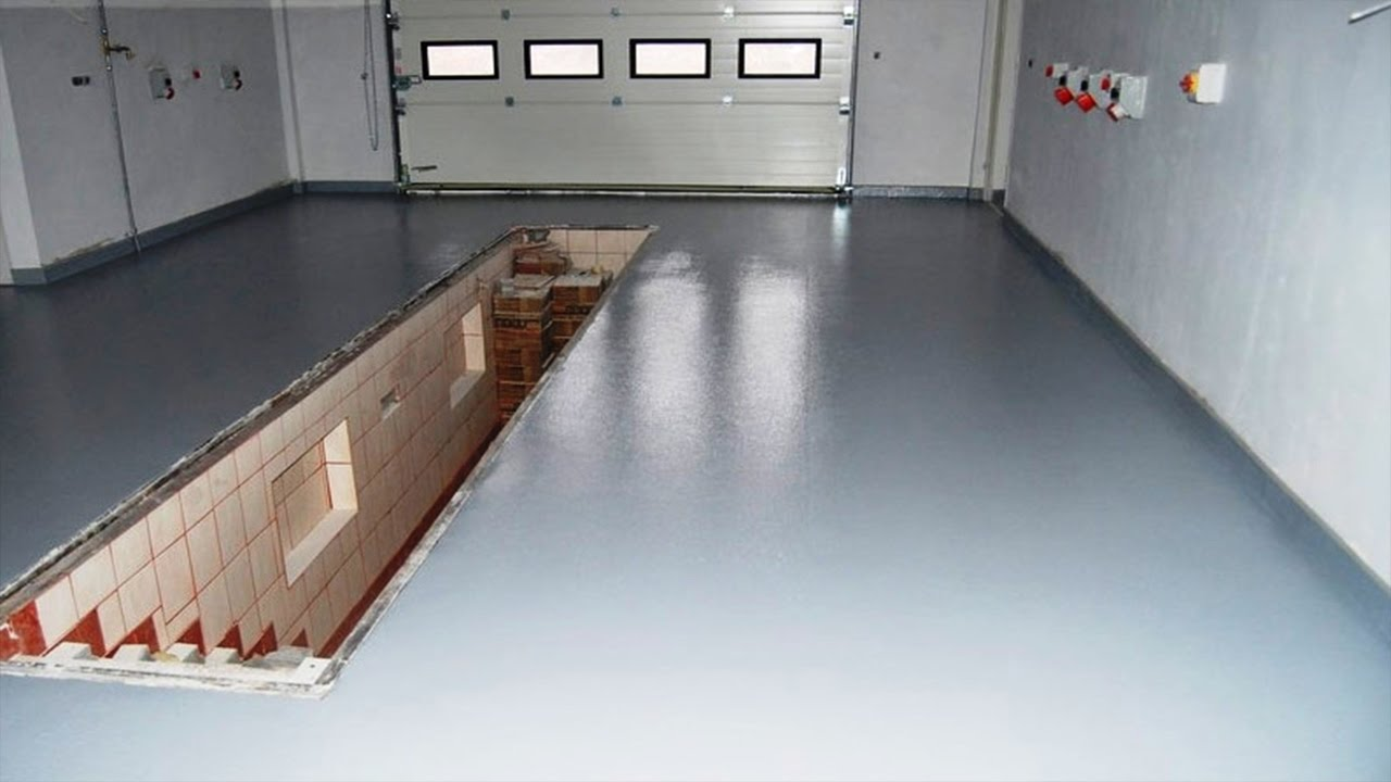 Бетонная стяжка пола в гараже своими руками 654