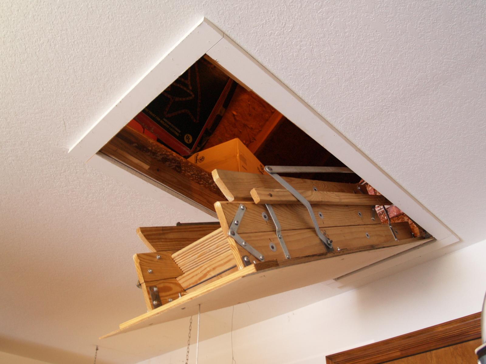 Как сделать чердачную лестницу 867