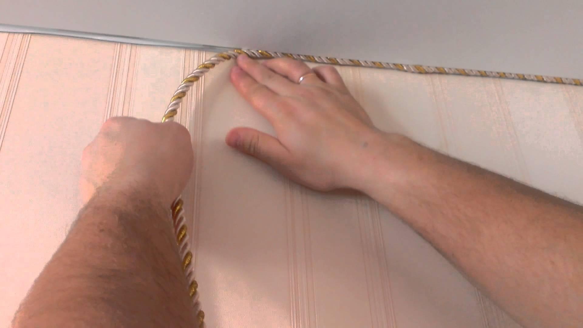 Декоративный шнурок своими руками