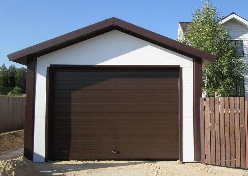 Построить гараж своими руками недорого 6 9 из сэндвич панелей 74