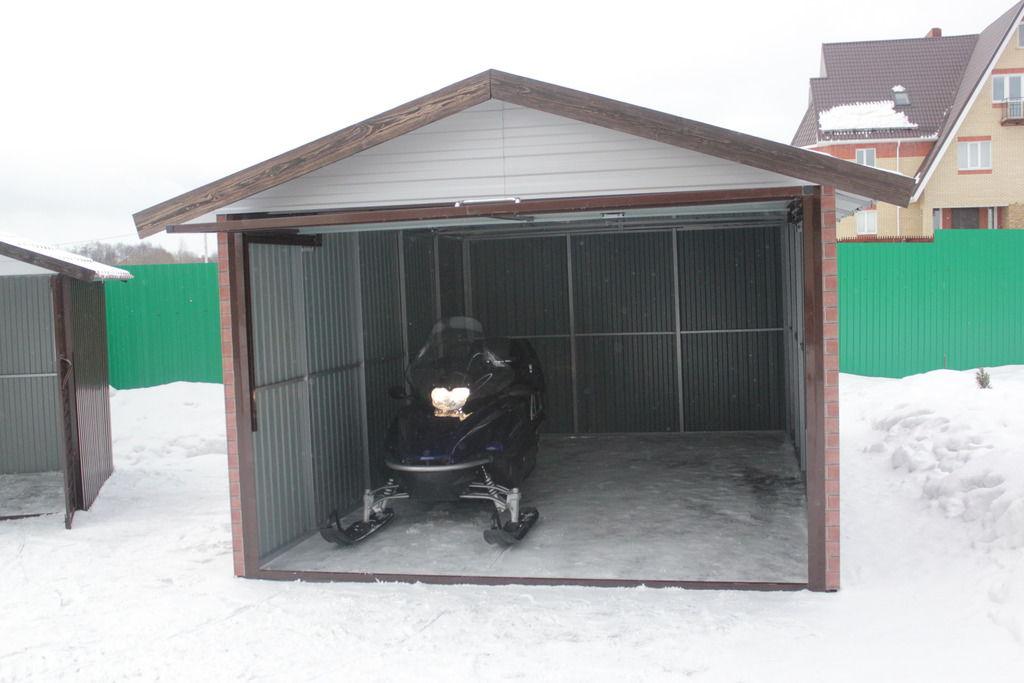 Как собрать гараж металлический пенал купить гараж в нахабино ветеран