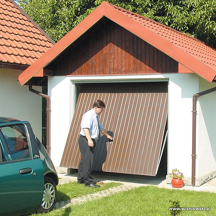 Подъёмные ворота для гаража своими руками