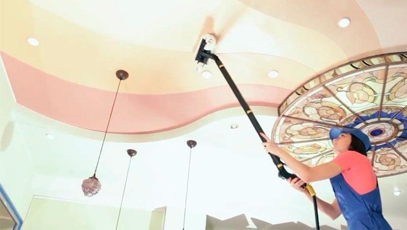 Подвесные потолки в домашних условиях 658