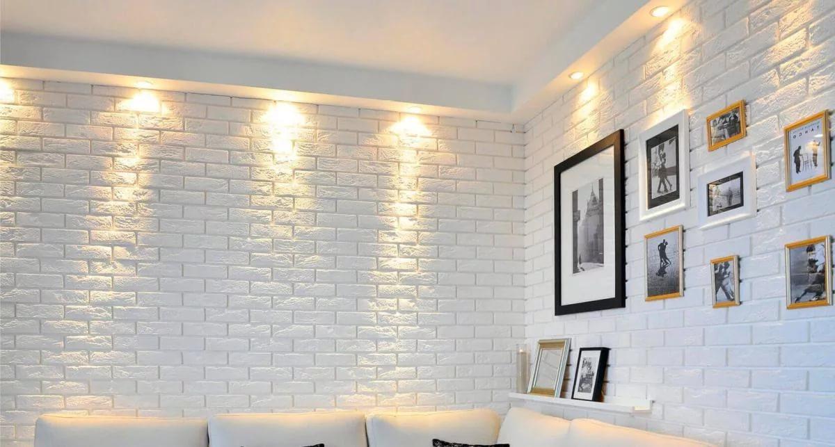 Кирпичная стена в интерьере своими руками фото 644