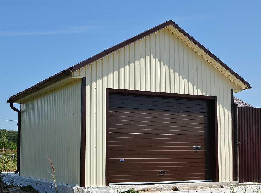 Как дешевле построить гараж своими руками 348