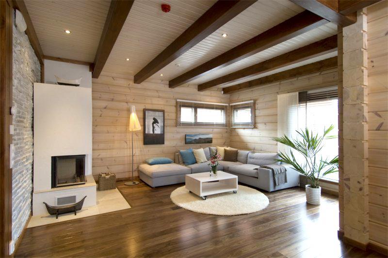 Сделать деревянный потолок своими руками