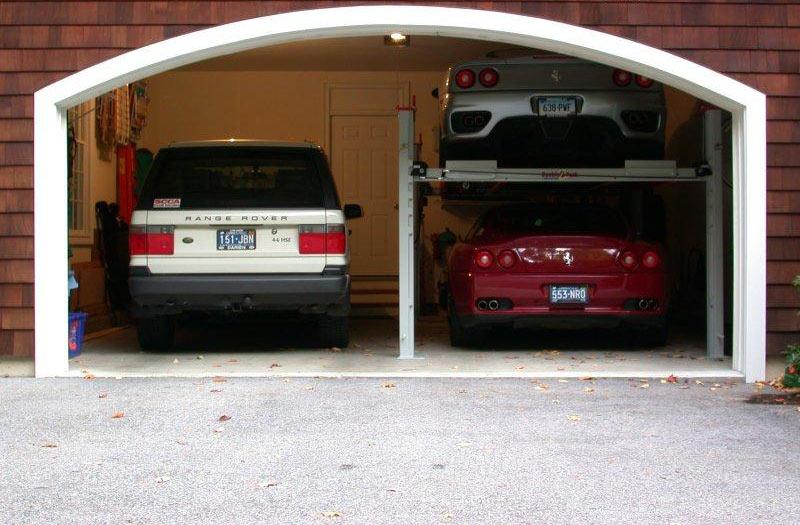 Идеальные размеры гаража на 2 машины купить гараж gta 5