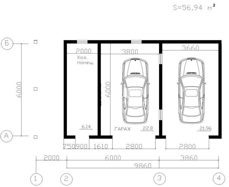 Какой ширины гараж на 2 машины купить гараж в приморском районе мариуполь