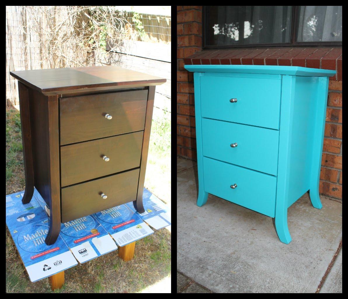 Перекраска мебели своими руками 89