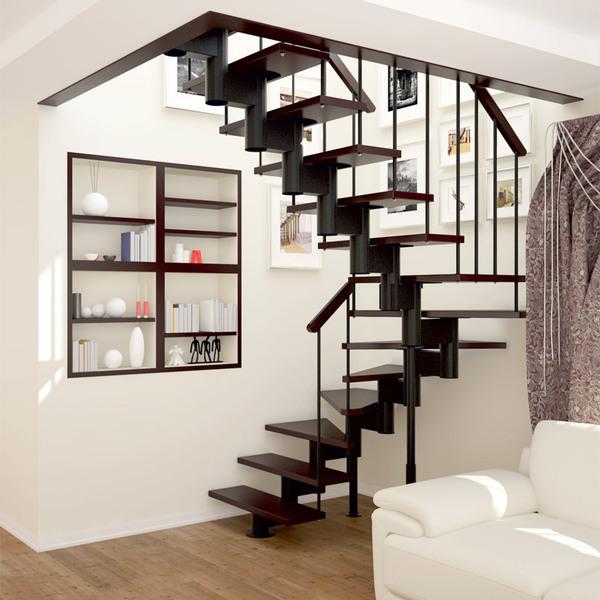 Лестница своими руками в небольшом доме
