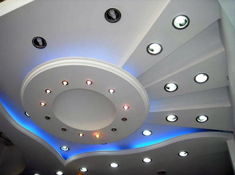 Как сделать парящий потолок из гипсокартона с подсветкой