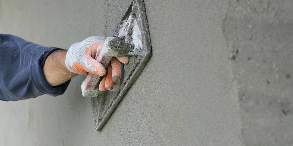 штукатурка или цементный раствор