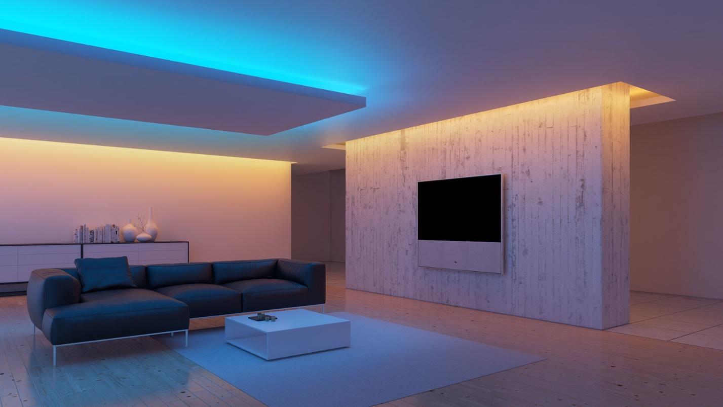Гипсокартонный потолок с подсветкой Decor 4 House