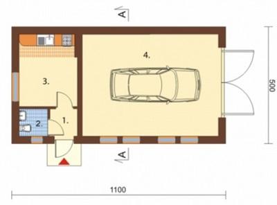 Стандартный гараж на 1 машину детское гараж купить