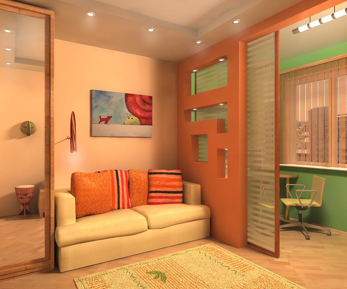 Как сделать из одной комнаты две: простые способы. - InMyRoom 59