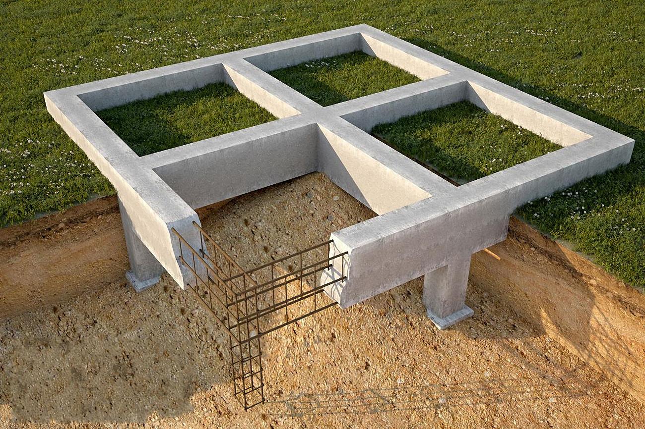 Фундамент под баню какой лучше