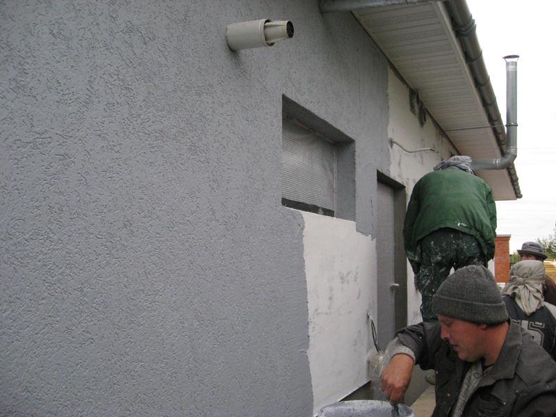 Штукатурка фасадов цементным раствором купить бетон дешево нижний новгород