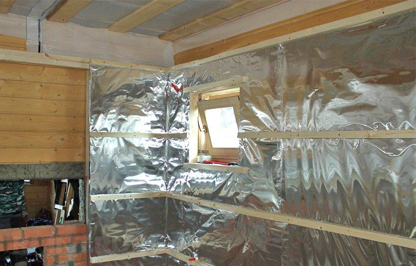 Утеплитель для бани на стены изнутри и снаружи