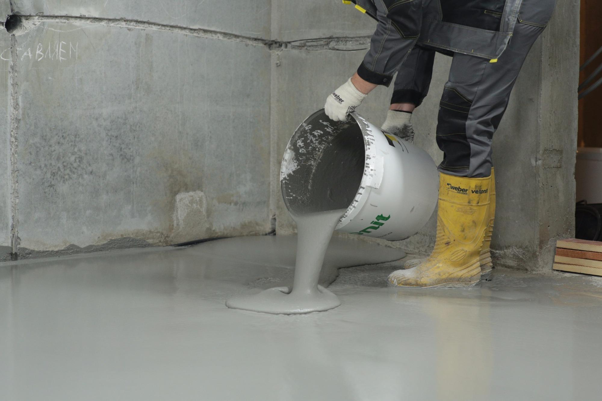 Бетон молоко замораживание бетона это