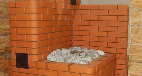 Подовая печь для бани своими руками