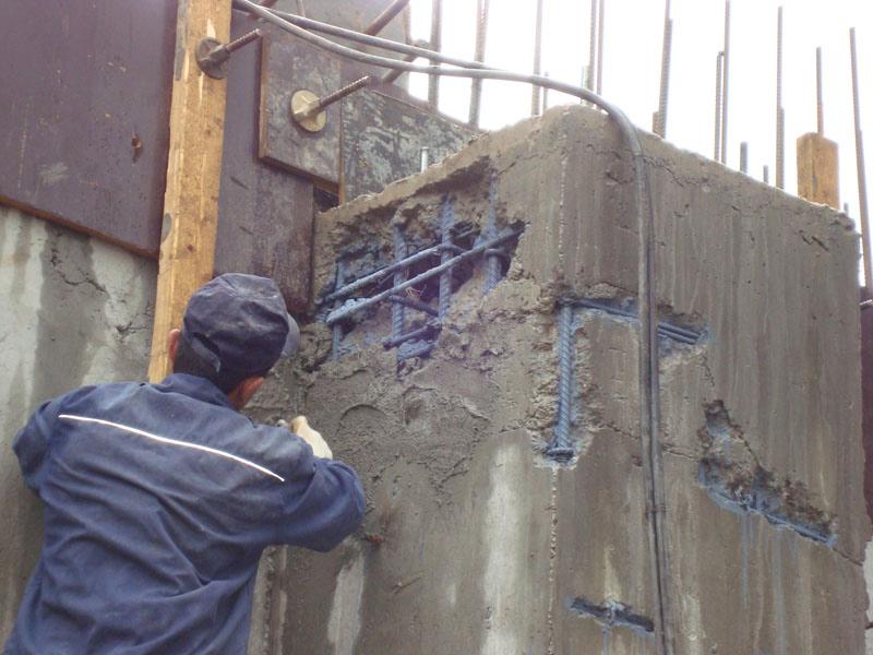 Ремонтная смесь для бетонных стен заказать блоки из ячеистого бетона