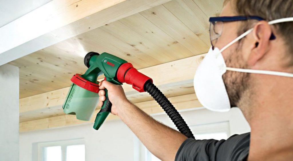 Ручной краскопульт для побелки электрический пульверизатор СО 61 и ручной распылитель для побелки известью