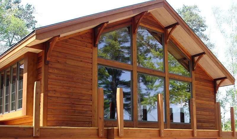 Блок-хаус для внутренней и внешней отделки дома из лиственницы особенности монтажа своими руками