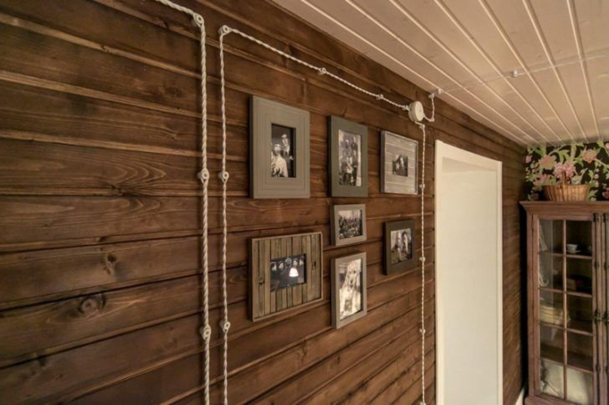 решил чем покрасить стены в деревянном доме фото этом музее