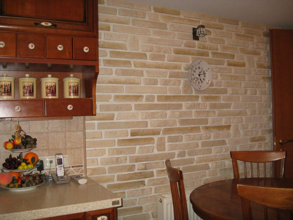 Cтеновые панели под кирпич для внутренней отделки стен