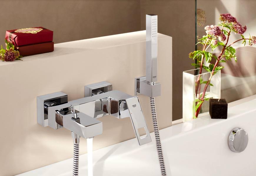 Строение врезного смесителя для ванной Сифон для мойки для кухни трубчатый, цвет: белый