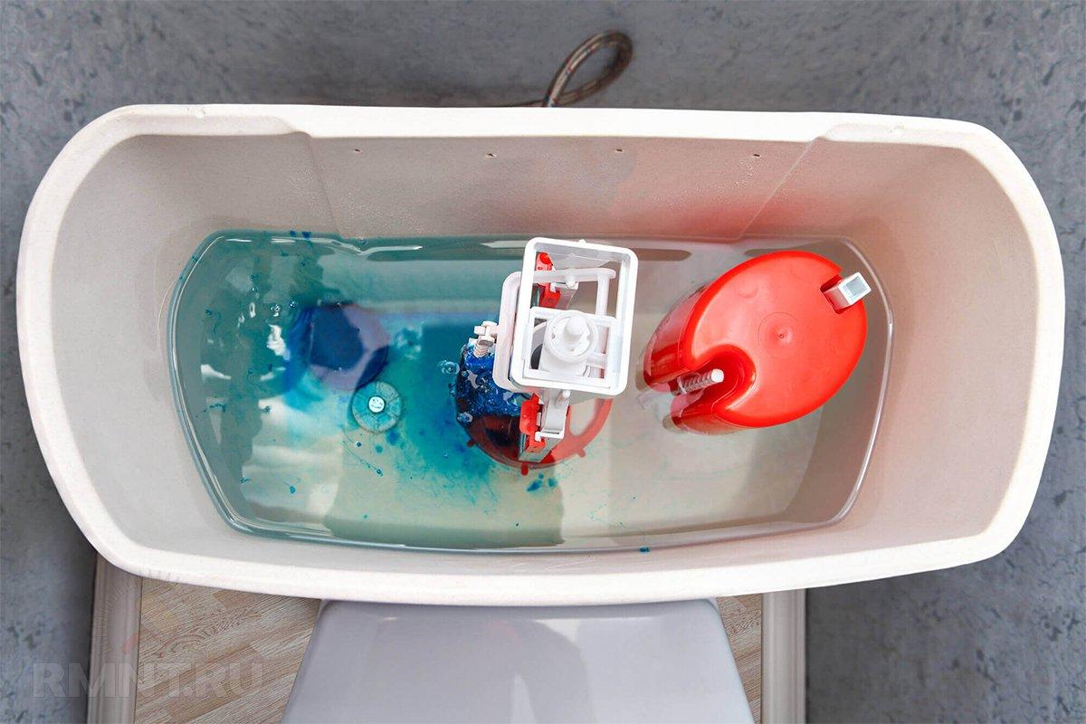 Что делать, если вода в бачке унитаза постоянно переливается