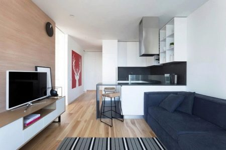 Дизайн кухни-гостиной площадью 12 кв