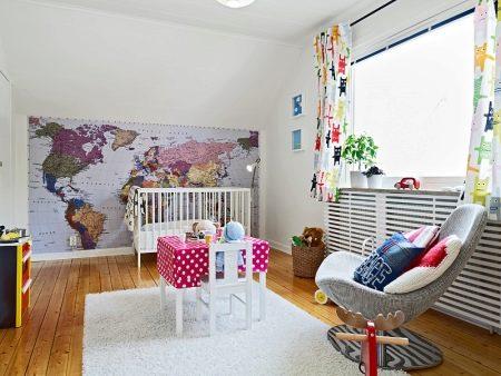 Фотообои - Карта мира - для детей на стену (44 фото): картинки на обоях в детскую комнату