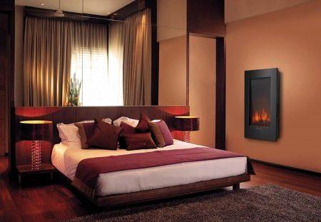 In Einem Kleinen Raum Absolut Jeder Stil Paßt Erfolgreich Eine Kaminecke.  Er Spart Platz Und Passt Leicht In Ein Schlafzimmer Raum.