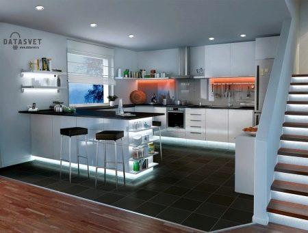 Напольное покрытие для кухни (77 фото): выбираем лучшие материалы для кухонного пола