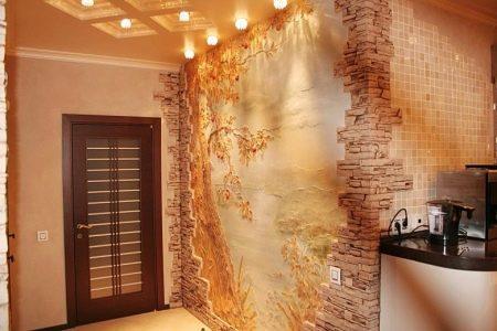 Ausgezeichnete Wahl, Um Die Wände Der Küche Von Finishing   Duplex Wand.  Sie Bestehen Nicht Aus Mehreren Lagen Papier Und Mit Einer Speziellen  Verbindung ...