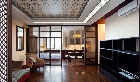 die trennwand zwischen k che und wohnzimmer. Black Bedroom Furniture Sets. Home Design Ideas