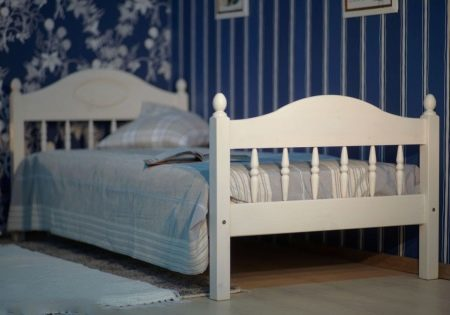 Детская кровать (59 фото): размер кроватки для 5-летнего ребенка