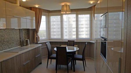Объединение кухни и лоджии - всё о балконе.