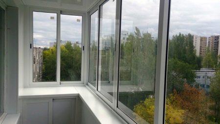 Холодное остекление балконов и лоджий - окна пласт.