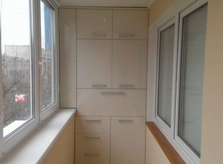 Мебель для балкона-лоджии (шкаф на балкон). цена - 50 грн в .